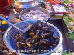 غذاهای دریایی در کره جنوبی