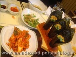 غذاهای سنتی در کره جنوبی