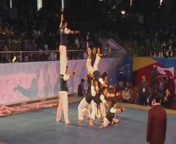 عکس رزمی -مسابقات جهانی تکواندو هان مادانگ - تصاویر ورزشی نمایش هنر های رزمی