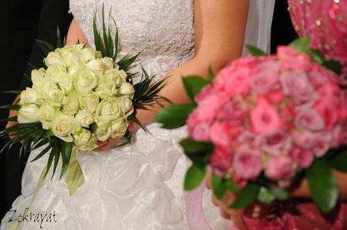عکس دسته گل رز عروس
