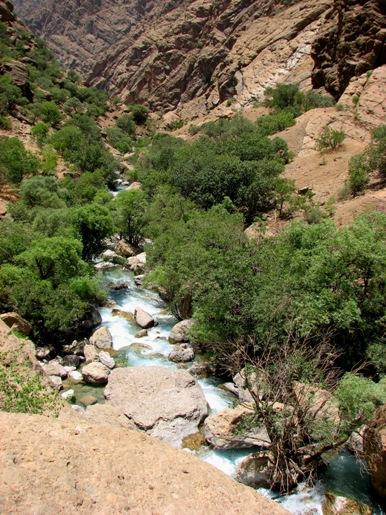 ریزشها در دره نیگا