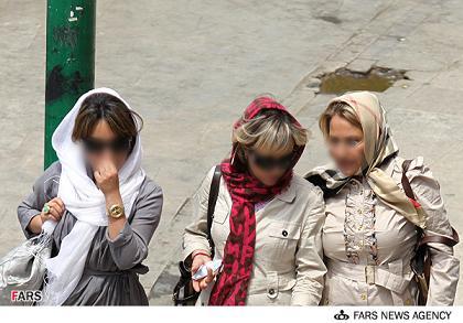 دختران بدحجاب تهرانی