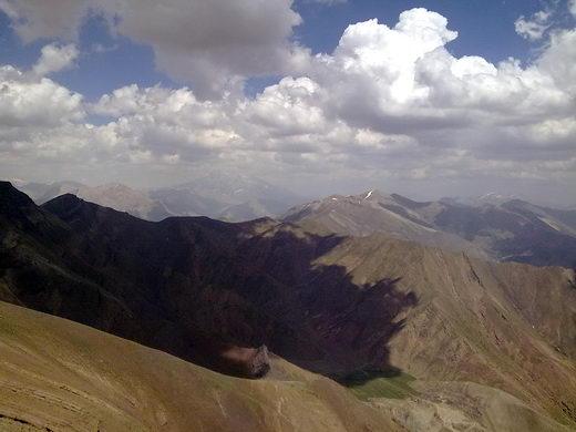 قله ساکا ، قله دماوند