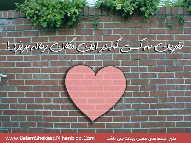 دیوار دلم