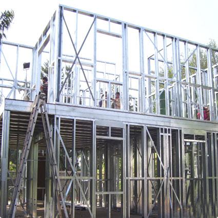 Image result for اجرای ساختمان های lsf