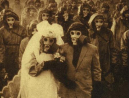 ازدواج موقع جنگ!