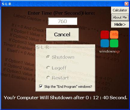 Shutdown-TurnOff