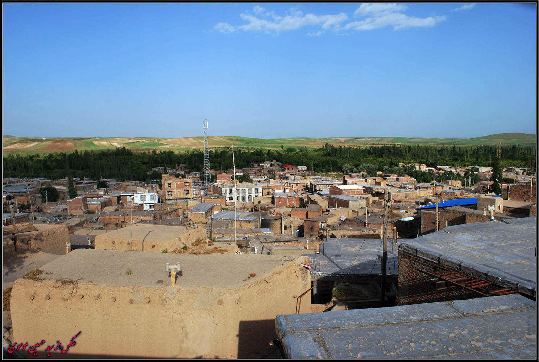 عکسی جدید از روستای کرمجوان
