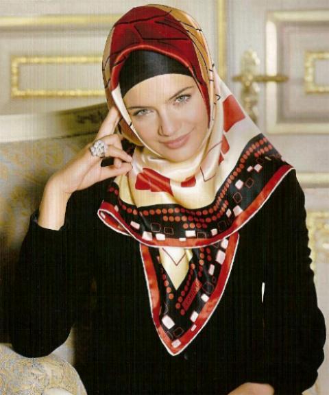 مدل های شال و روسری باحجاب زنانه و دخترانه