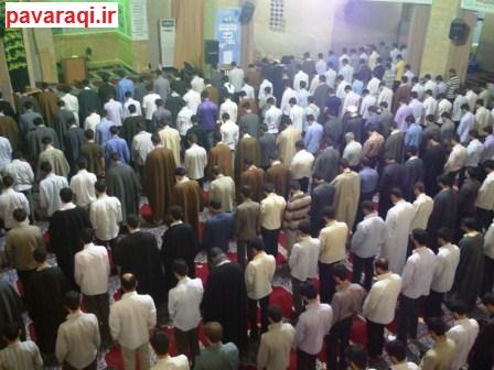 اعتکاف نمارگزاران مسجد دانشگاه امام صادق علیه السلام