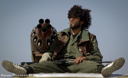 جنگ لیبی و سلاح های عجیب انقلابیون