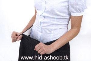 آموزش کوچک کردن شکم
