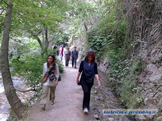 مسیر کوهنوردی درکه