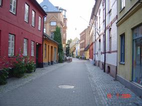 یکی از محله های قدیمی استکهلم