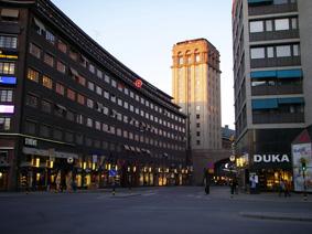 خلوتی خیابان های سوئد