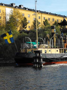 نمای کانال های آب در سوئد