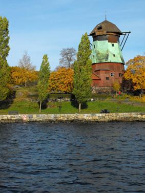 نمای پارک های استکهلم