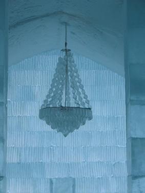 نمای لابی هتل یخی