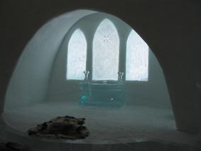 کلیسای هتل یخی