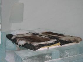 اتاق هتل یخی