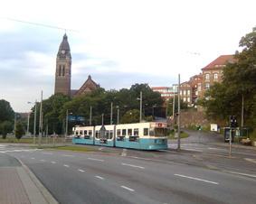 قطار شهری در گوتنبرگ