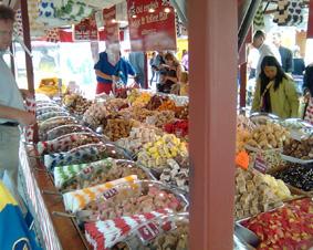 نمایشگاه خوراکی در سطح شهر گوتنبرگ
