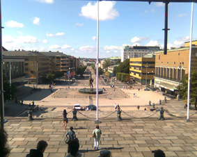خیابان اصلی شهر گوتنبرگ