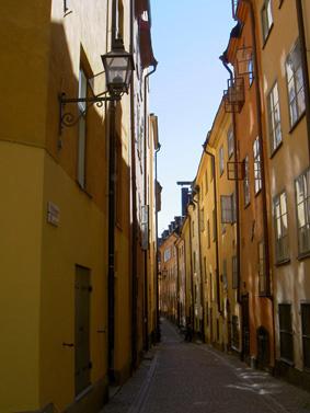 قسمت قدیمی شهر در استکهلم