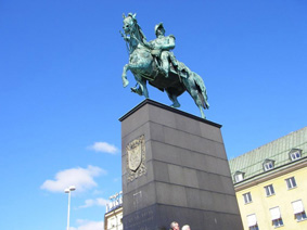 روز اول ورود به استکهلم