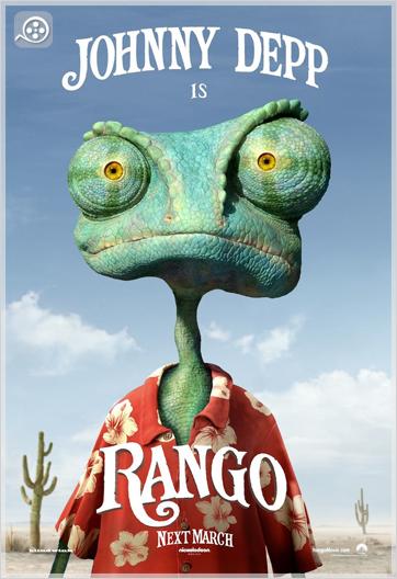Covers  دانلود انیمیشن دوبله فارسی Rango 2011