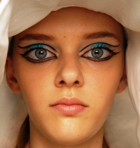 دختری با بزرگترین چشمهای دنیا
