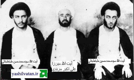 میرزا علی اکبر مرندی و طباطبائی