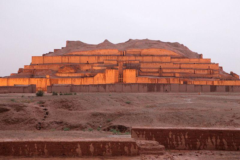 عكس هاي معبد چغازنبيل (شوش- تمدن ايلام)
