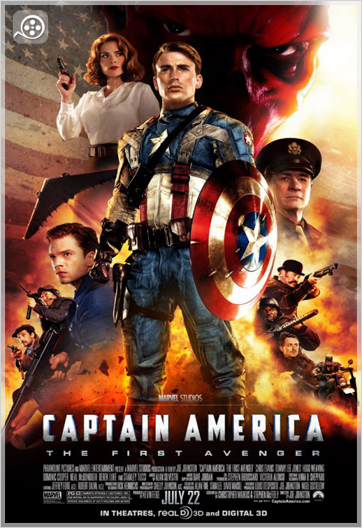 4 دانلود فیلم Captain America ; The First Avenger 2011
