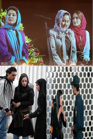 عکس بازیگران زن دختر ایرانی بی حجاب بدون حجاب بد حجاب