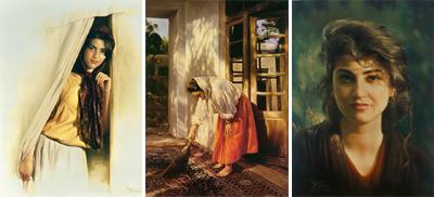 نقاشی های بسیار زیبا و فوق اعلاده از استاد کاتوزیان