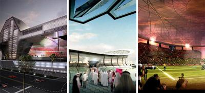 استادیوم های قطر برای جام جهانی 2022