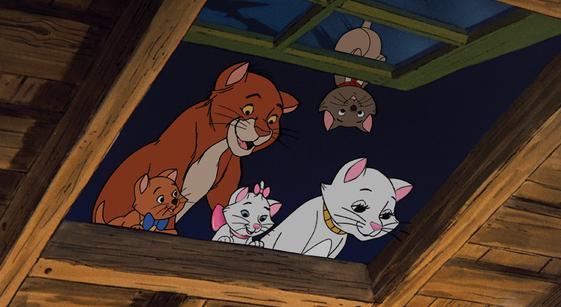 کارتون گربه های اشرافی
