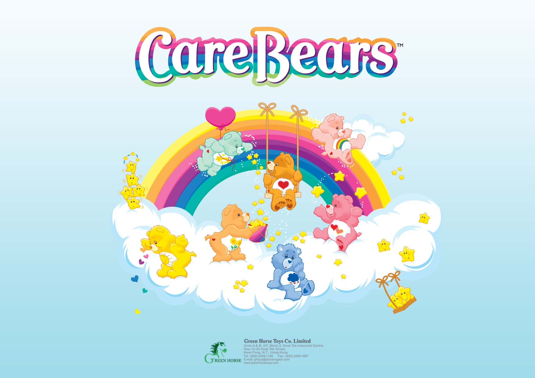 کارتون خرس های مهربان