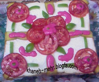 کیک ساندویج