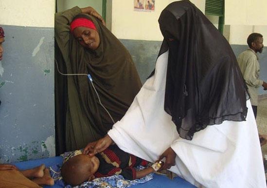 قحطی دز سومالی