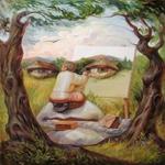 1322507782Oleg Shuplyak paintings 1 عکس چهره های پنهان در نقاشی ها