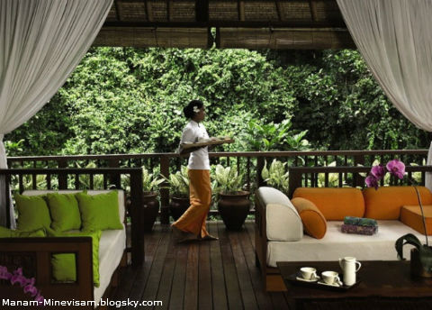 هتلی زیبا در کشور اندونزی