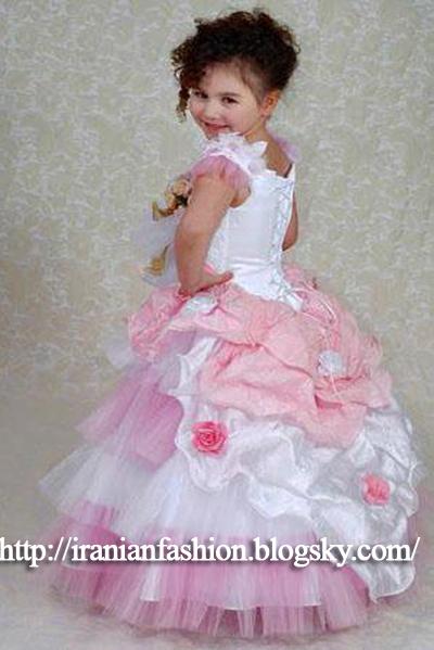 مدل لباس مجلسی شیک دخترانه بچه گانه