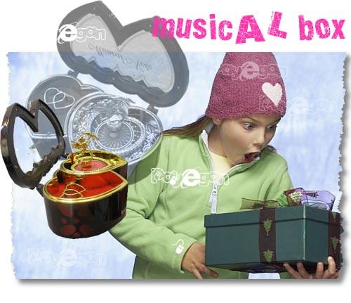 خرید جعبه موزیکال