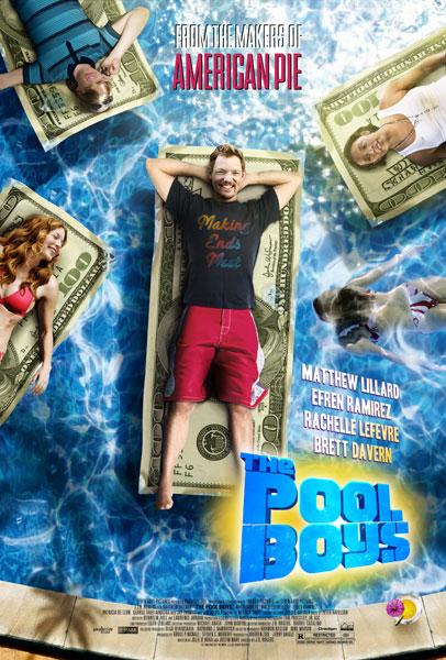 The Pool Boys 2010 BRRip 720p MKV 550MB دانلود فیلم
