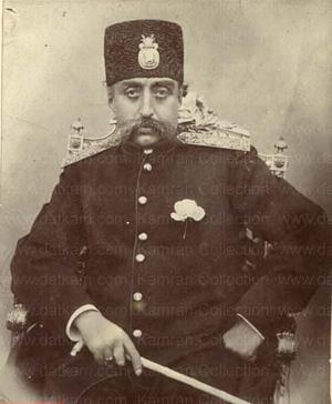 سفر دوم ناصرالدین شاه به فرنگ از طریق جلفا
