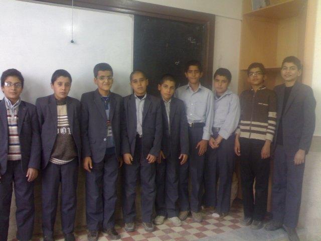 دانش آموزان دوم 8