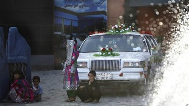 عروسیهای مجلل و پرهزینه در افغانستان