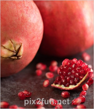 6 عکسهای بسیار زیبا از میوه انار